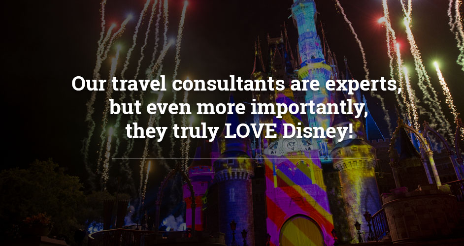 AAA travel consultants are experts, but even more importantly they truly LOVE Disney!